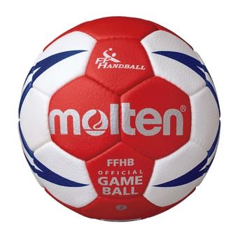 Ballon de handball HX5001 blanc/rouge/gold