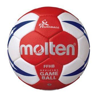 Molten HX5001 - Pallone da pallamano bianco/rosso/gold