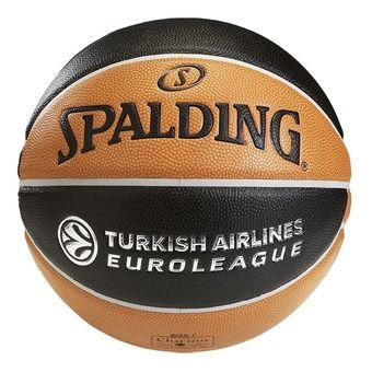 Spalding EUROLEAGUE TF 1000 LEGACY - Ballon basket orange/noir