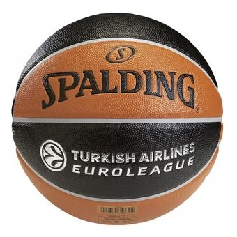 Ballon EUROLEAGUE TF 500 orange/noir