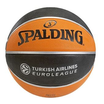 Spalding EUROLEAGUE TF 150 - Pallone da basket arancione/nero