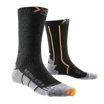 Chaussettes de randonnée DOUBLE ACTION MID anthracite / orange