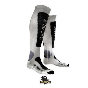Calcetines de esquí hombre SKI METAL silver / anthracite