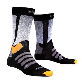 Ski Socks - Men's - XC RACING black / grey melange