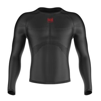 Compressport 3D THERMO ULTRA LIGHT - Maillot Homme black