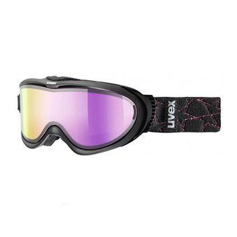 Gafas de esquí COMANCHE TO black mat/mirror pink/lasergold lite clear