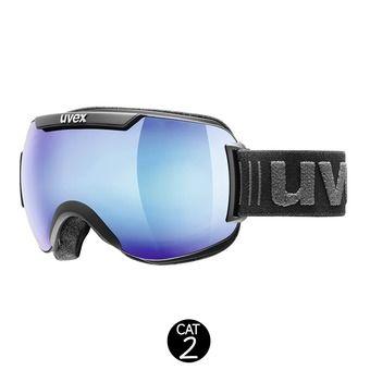 Masque de ski DOWNHILL 2000 FM black mat/mirror blue clear