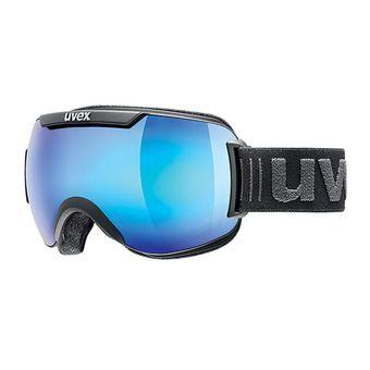 Uvex DOWNHILL 2000 FM - Masque ski black mat/mirror blue cl