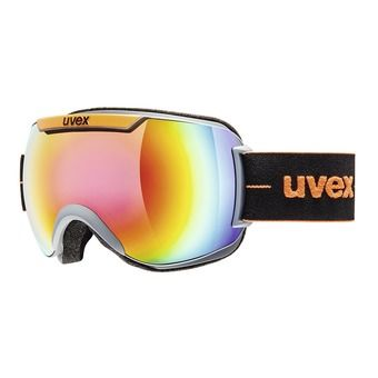 Gafas de esquí DOWNHILL 2000 FM coal-orange mat/mirror rainbow rose
