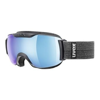 Uvex DOWNHILL 2000 FM - Masque ski navy mat/mirror blue clear