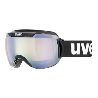 Masque de ski DOWNHILL 2000 VLM black/litemirror silver variomatic/clear