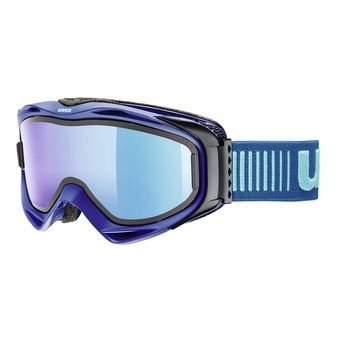 Masque de ski G.GL 300 TO navy mat/mirror blue clear