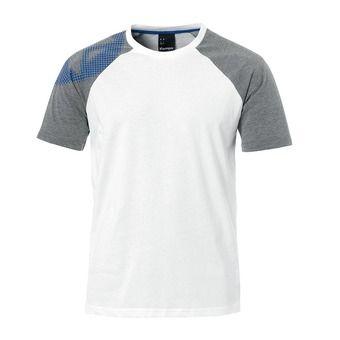 Tee-shirt MC homme FLY HIGH T-SHIRT blanc/gris chiné