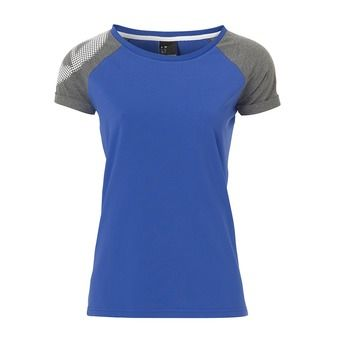 Tee-shirt MC femme FLY HIGH T-SHIRT bleu roi/gris chiné