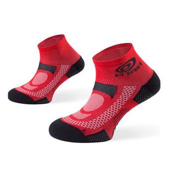 Lot de 3 paires de socquettes SCR ONE rouge