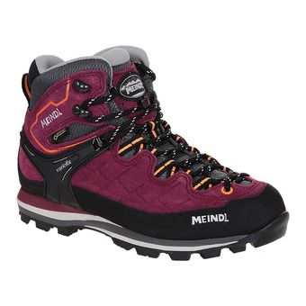 Meindl LITEPEAK GTX - Hiking Shoes - Women's - blackberry/orange