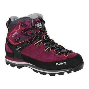 Meindl LITEPEAK GTX - Hiking Shoes - Women's - blackberry/orange