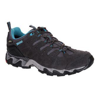 Meindl PORTLAND GTX - Chaussures randonnée Femme gris/bleu pétrole