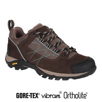 Zapatillas de senderismo mujer MOOVEN LOW GTX dark brown/agave