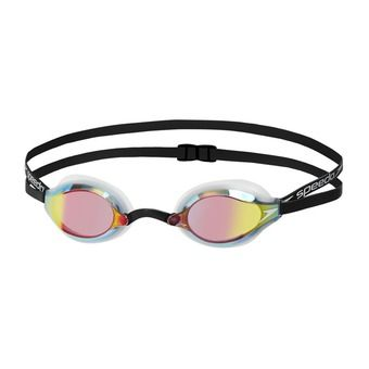 Swimming Goggles - FASTSKIN SPEEDSOCKET 2 MIRROR white/copper