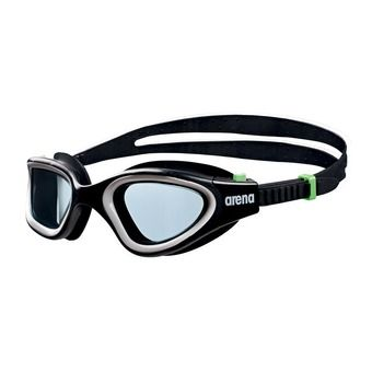 Arena ENVISION - Swimming Goggles - black/smoke green