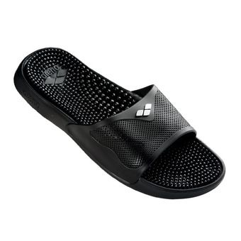 Arena MARCO X GRIP - Sandalias solid black/silver