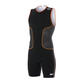 Z3Rod ISUIT - Trisuit - Men's - black/orange/white