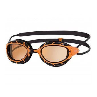 Zoggs PREDATOR ULTRA - Lunettes de natation polarisées orange/black/copper