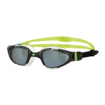Lunettes de natation AQUA FLEX black/lime/titanium