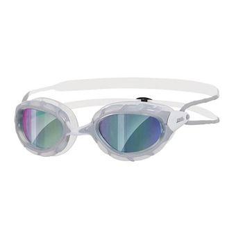 Gafas de natación PREDATOR MIRROR grey/white/mirror