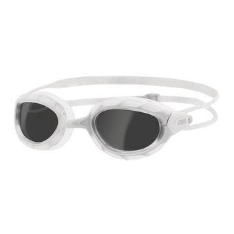 Swimming Goggles - PREDATOR white/white/smoke