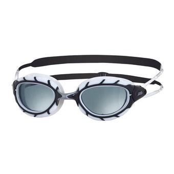 Gafas de natación PREDATOR black/white/smoke