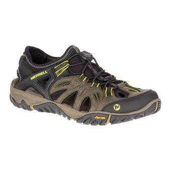 Merrell ALL OUT BLAZE SIEVE - Chaussures randonnée Homme olive night