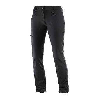 Salomon WAYFARER STRAIGHT - Pantalon Femme black