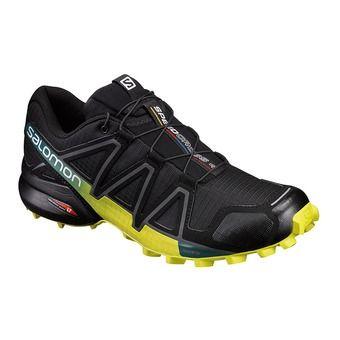 Salomon SPEEDCROSS 4 - Chaussures trail Homme black/everglade/spring