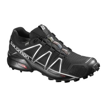 Salomon SPEEDCROSS 4 GTX - Zapatillas de trail hombre black/silver metallic