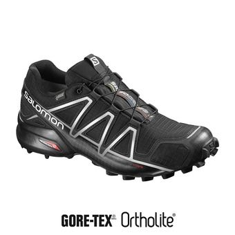 Salomon SPEEDCROSS 4 GTX - Chaussures trail Homme black/silver metallic