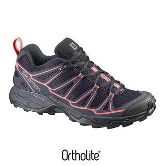 Zapatillas de senderismo mujer X ULTRA PRIME  nightshade/bl/cora
