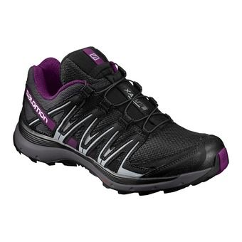 Chaussures trail femme XA LITE black/magnet/grape juice
