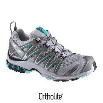 Zapatillas de trail mujer XA PRO 3D quarry/pearl blue/aruba