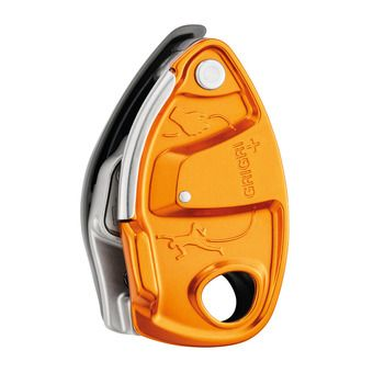 Petzl GRIGRI+ - Système d'assurage orange