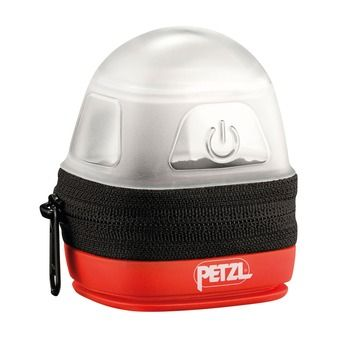 Etui de protection-diffusion pour lampes frontales Petzl NOCTILIGHT noir/rouge