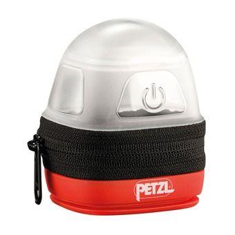 Funda de protección-difusión para linternas frontales Petzl NOCTILIGHT negro/rojo
