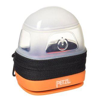 Petzl NOCTILIGHT - Headlamp Case - black/orange