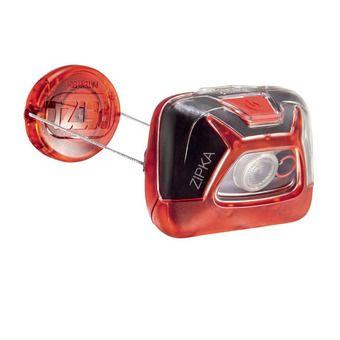 Lampe frontale ZIPKA® rouge