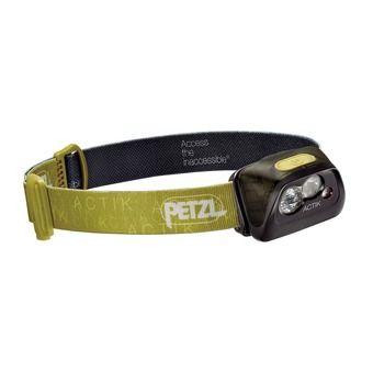 Petzl ACTIK - Lampada frontale verde