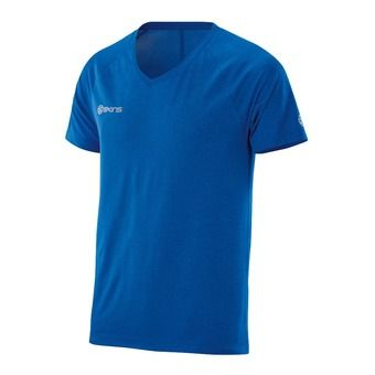 Maillot MC homme PLUS VECTOR ultra blue/marle