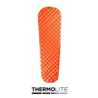 Matelas gonflable ULTRALIGHT INSULATED orange