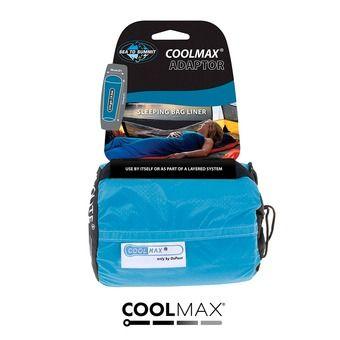 Sea To Summit COOLMAX ADAPTOR - Lenzuolo sacco a pelo blu