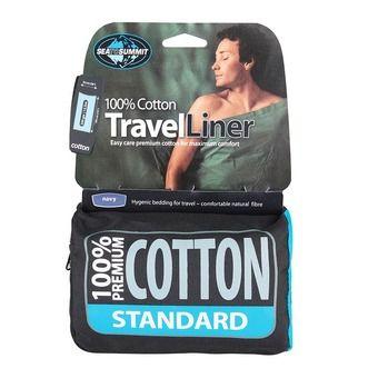 Drap de sac COTON Rectangular Standard Navy Blue